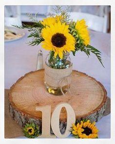 Sunflower Wedding Bouquets   //simpleweddingstuff.blogspot.com ... on