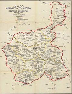 Congress Poland, Battles of January Uprising (1863)