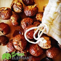 Soapnuts are a natural, no chemical, waste free laundry solution great for eczema and sensitive skin. Read more and buy Soapnuts at Green Elephant