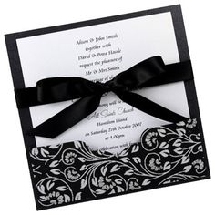 Wedding Invitation DIY Kit ~ Danielle Square Pocket Invite ~ 25 pcs