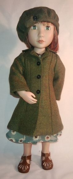 A Girl for all time hand made 1940 style coat and by Gwendollys