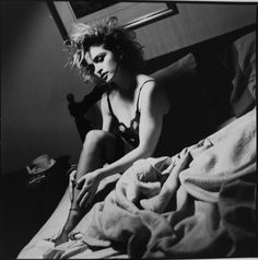 """Madonna with her """"bed head"""" hair in the 80's"""