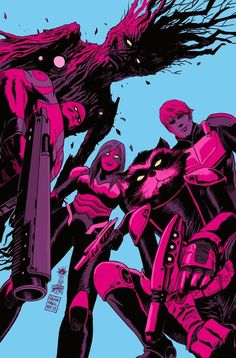 Guardians of the Galaxy by Francesco Francavilla