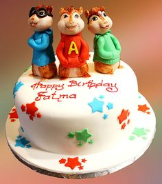 alvin and the chipmunks taart Alvin and the Chipmunks Cake | Party Ideas | Pinterest | Chipmunks  alvin and the chipmunks taart