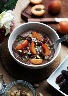 czekoladowy pudding jaglany z morela 1
