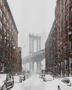 Moodboard: Snow In NYC - Simple + Beyond