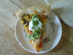 #Cricut - Southwest Black Bean Pizza - another recipe keeper!
