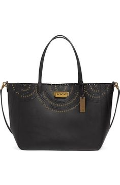 ZAC Zac Posen 'Eartha Iconic Signature' Calfskin Leather Shopper available at #Nordstrom