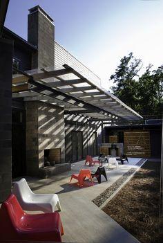 Althea Way House modern patio
