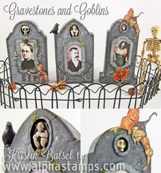 Alpha Stamps News » New Goblins Kit, New Collage Sheets, New Halloween Goodies