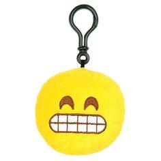 Plush Mini Emoji Keyring Emoticon Key Chain Funny Bag Clip Gift PANDA Face