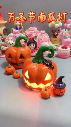Halloween Clay, Fete Halloween, Diy Halloween Decorations, Halloween Crafts, Holiday Crafts, Diy Crafts Hacks, Diy Crafts For Gifts, Creative Crafts, Fun Crafts