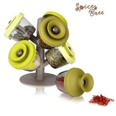 This is a funny Spices Tree Spice Rack. Check here : http://goo.gl/GHuWcv