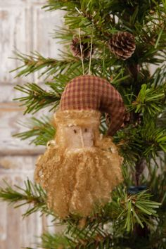 Your Heart's Delight by Audrey's - Ornament - Santa's Head