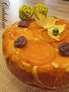 Rosace à l'orange sans gluten et sans laitage !