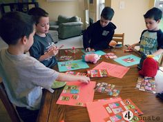 what to send to send to a sponsored child // u-neeks encouragement cards