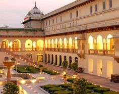 Taj RamBagh Hotel: Taj Group cannot go wrong, a must stay if you're looking for Luxury. @ Jaipur, Rajasthan, India