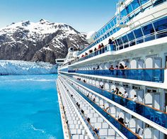 Golden Princess, an Alaskan nature cruise to spot glaciers and orcas with a hint of history. http://www.familycircle.com/family-fun/travel/sail-away-cruise-lines-for-every-family-vacation/