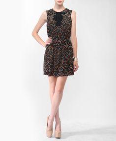 Collared Confetti Print Dress | FOREVER21