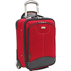 "Ricardo Beverly Hills Valencia Lite 17"" Universal Carry-on - Tango Red - via eBags.com!"