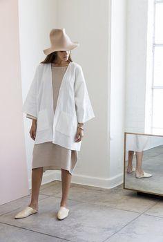 Rachel Craven Kimono Jacket and Short Cocoon Dress