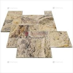 Travertine Marble French Pattern Paver - Classic Roma Marble Tiles, Stone Tiles, Mosaic Tiles, Exterior Design, Interior And Exterior, Pool Pavers, Travertine Pavers, French Pattern, Vintage World Maps