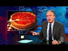 Jon Stewart defends NY pizza - http://thosedamnliars.com/2013/11/27/the-truth/jon-stewart-defends-ny-pizza/
