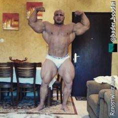 Big Ramy at 160 kg/358 lbs