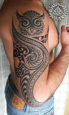 77 Meilleures Images Du Tableau Tatouage Hibou Chouette Tattoo