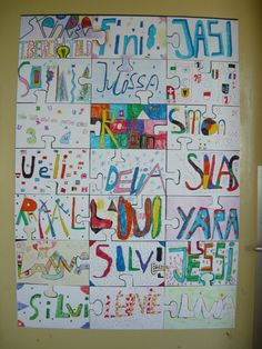 I want to do something like this in my room but with wordle. Maybe for only CIA/Advisory or each class?