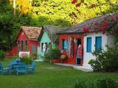 Trancoso - Bahia - Brasil- love the colors