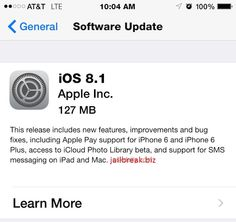 Well, it's Monday, and that can only mean one thing: Apple's iOS 8.1 update has finally gone live for your installing pleasure. To recap, the new software -- which is debuting just over a month since iOS 8 first hit -- brings back once-trashed favorites like the Camera Roll, and strengthens the connection between your iPhone, iPad and Yosemite-powered Mac with features like SMS handoff and the uber-impressive Instant Hotspot