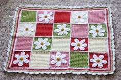 Repeat Crafter Me: Crochet Daisy Afghan