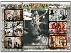 Juxtapoz Magazine - The work of renowned photographer Peter Beard Peter Beard, Dan Eldon, Beard Neckline, Collage Artists, Collages, Book Week, American Artists, Art Photography, Photos