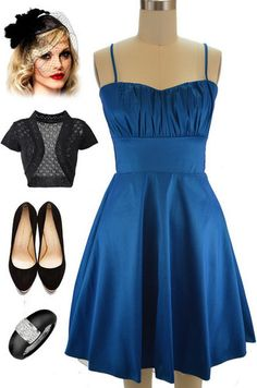 Brand new in store at Le Bomb Shop! Find them here: http://www.ebay.com/itm/50s-Style-TEAL-ROUCHED-Bust-Bombshell-PINUP-Holiday-PARTY-Dress-w-Attached-Tulle-/121174547707?var=&hash=item61d42a4c32