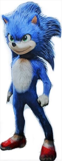 7466832b987862 So why aren t Sonic s shoes all fur if his gloves ...