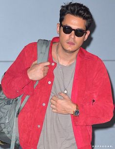 Pin for Later: John Mayer Steps Out Looking Handsome After Katy Perry Confirms Romance With Orlando Bloom