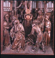Jan Borreman: St Joris retabel
