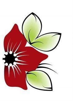 lindas flores para falso artesanal