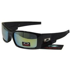c3da26a1a2c84  15.99 Fake Oakley Gascan Sunglasses Yellow Blue Iridium Black Frames Store  Deals www.racal.