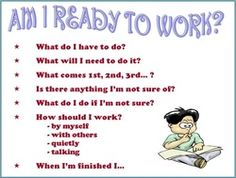 Am I ready to work? Can be used as a placemat for the 'unsettled' ones!