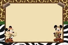 Minnie Safari, Mickey Baby Showers, Disney Classroom, Mickey Y Minnie, Safari Party, Wild Ones, Birthday Fun, Disney Vacations, Cute Cards