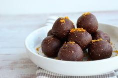 Jaffa Protein Balls - The Fit Foodie