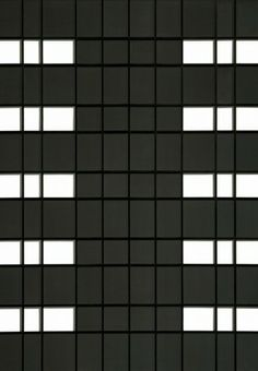 Black and white cubes building