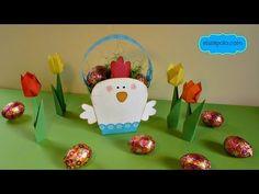 DIY, Ideas para Cestas de Pascua, Easter Basket ideas. - YouTube