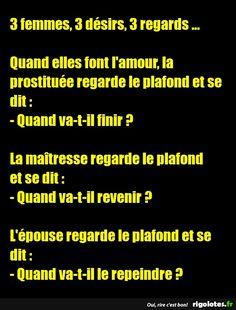 3 femmes, 3 désirs, 3 regards ... - RIGOLOTES.fr