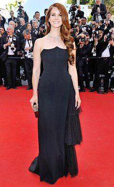 """Lana Del Rey attends opening ceremony and """"Moonrise Kingdom"""" premiere during the 65th Cannes Film Festival at Palais des Festivals on May 16, 2012 in Cannes, France."""