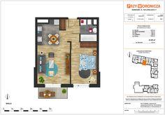 Jeden z naszych planów. Mieszkanie niewielkie, ale niezwykle przemyślane i komfortowe do funkcjonowania. Po więcej wejdź na naszą stronę:  http://www.grupolar.pl/przy-woronicza/ #mieszkanie #dom #plan #development #deweloper #warszawa #mokotów