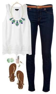 Visit to school by northern-prep on Polyvore featuring rag & bone, J Brand, Stella & Dot, J.Crew, Topshop, Eos and Christian Dior