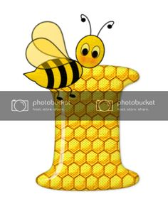 Alfabeto de abeja sobre letras de panal. - Oh my Alfabetos! Blogger Templates, Tweety, Fictional Characters, Alphabet, Honeycomb, Bees, Lyrics, Art, Fantasy Characters
